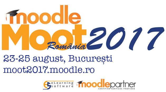 Conferința Națională de eLearning MoodleMoot România 2017